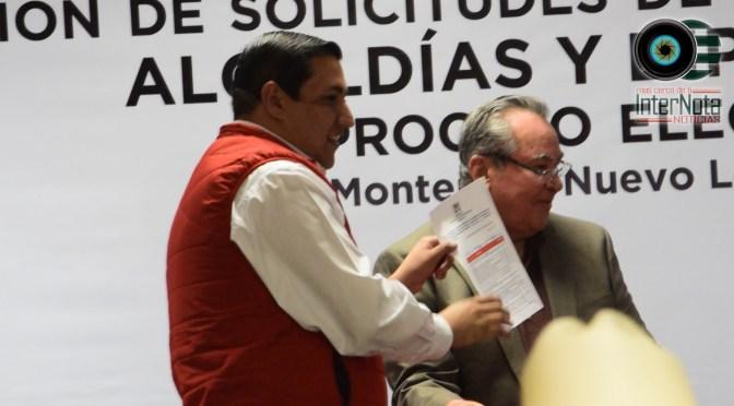SE REGISTRA JESÚS HOMERO AGUILAR HERNÁNDEZ COMO PRECANDIDATO LA ALCALDÍA DE HUALAHUISES, N.L