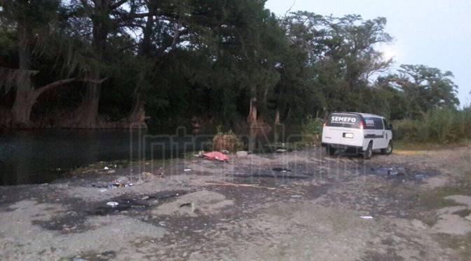 MUERE AHOGADA UNA PERSONA EN EL RIO SAN BARTOLO