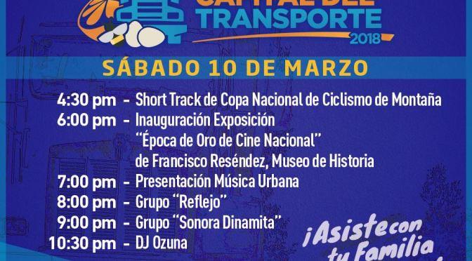 PROGRAMA DE LA FERIA DEL DÍA DE HOY SÁBADO 10 DE MARZO