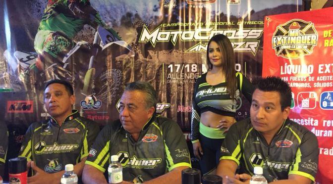 CAMPEONATO REGIONAL CITRICOLA MOTOCROSS AND RZR, RUEDA DE PRENSA EN ALLENDE N,L.