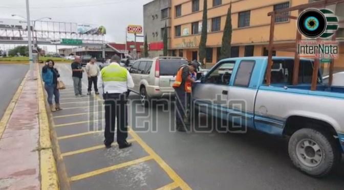 ACCIDENTE EN AV. CAPITÁN ALONSO DE LEÓN.
