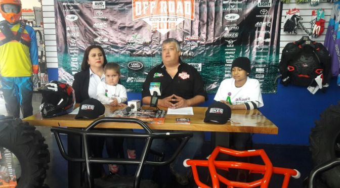 """SEMANA DEL OFF ROAD EXPO-FEST 2018"" CONFERENCIA DE PRENSA"