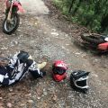 TRASLADAN EN HELICÓPTERO A HOMBRE LESIONADO TRAS ACCIDENTE EN LA TRINIDAD.
