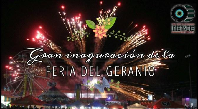 GRAN INAUGURACIÓN DE LA FERIA DEL GERANIO 2018 EN HUALAHUISES, NUEVO LEÓN