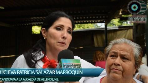 PATTY SALAZAR SE REUNE CON VECINOS DE BUENA VISTA