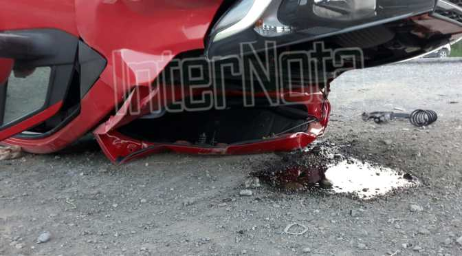 #INTERNOTA #ENVIVO SE REGISTRA ACCIDENTE VIAL TIPO #VOLCADURA.