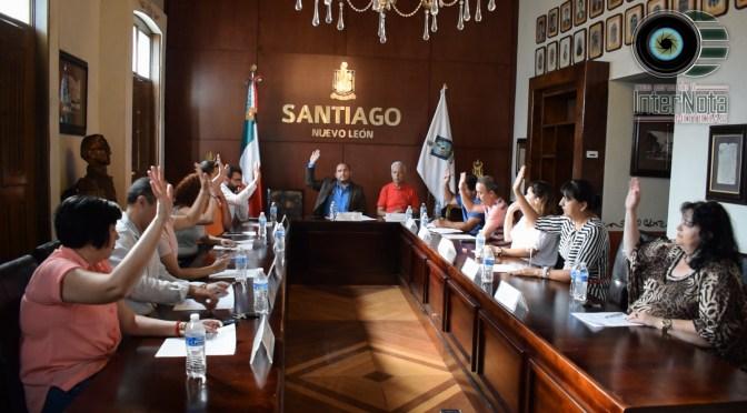 REALIZAN JUNTA ORDINARIA DE CABILDO EN EL MUNICIPIO DE SANTIAGO, N.L.