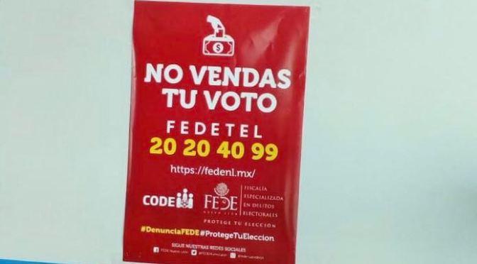 COMIENZA CAMPAÑA PARA PROMOVER LA LEGALIDAD Y CONCIENTIZACIÓN DEL VOTO
