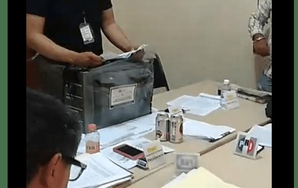#ENVIVO #INTERNOTA LA COMISIÓN MUNICIPAL ELECTORAL CONTINÚAN CON EL CONTEO DE VOTOS EN ALLENDE N.L.