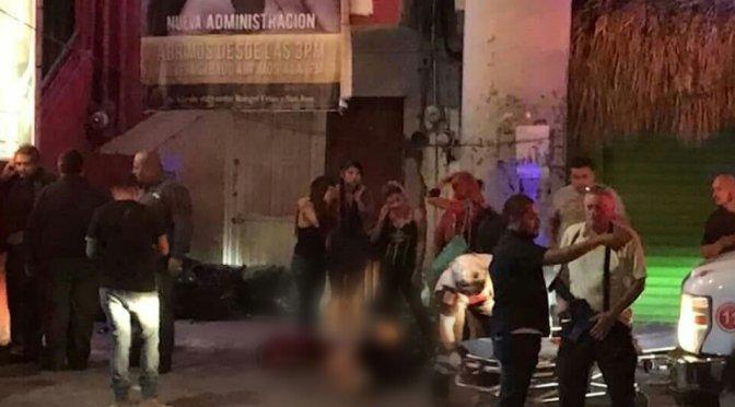 NOCHE VIOLENTA EN 7 BARES Y ANTROS DE LA CIUDAD DE MONTERREY.