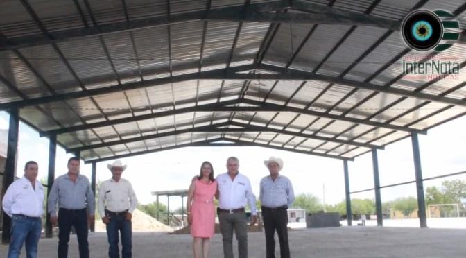 ALCALDE INVITA A IN AUGURACIÓN DE TECHUMBRE UBICADA EN SAN JUAN DE VAQUERÍAS, GENERAL TERÁN, N.L