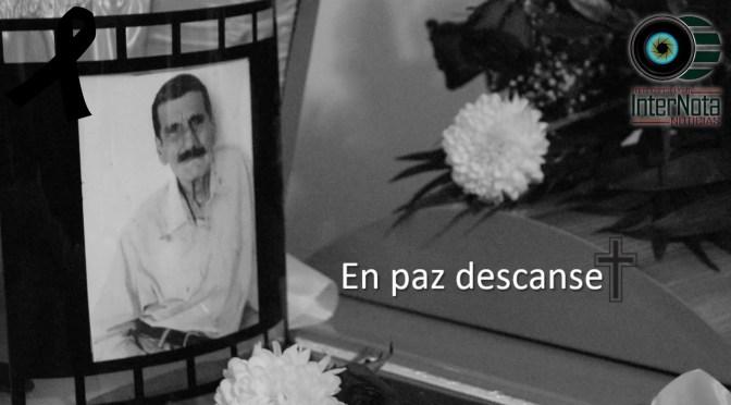 DAN EL ÚLTIMO ADIÓS AL SEÑOR JOSÉ GUADALUPE CANTÚ (LUPE)