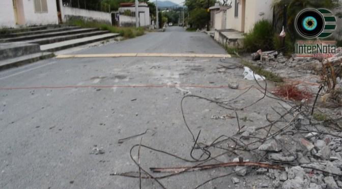 SUPERVISAN TERRENO DONDE SE CONSTRUIRÁ PLAZA PARA LOS HABITANTES DE LAZARILLOS DE ABAJO EN ALLENDE, N.L.