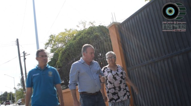 ENTREGAN OBRA DE PAVIMENTACIÓN DE LA CALLE PRINCIPAL DE LA COL. LADRILLERA, MONTEMORELOS, N.L.