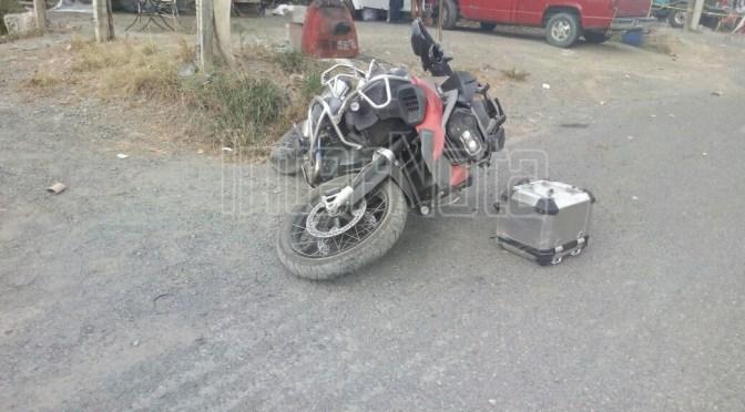 PERSONA PIERDE LA VIDA TRAS SUFRIR ACCIDENTE EN SU MOTOCICLETA.
