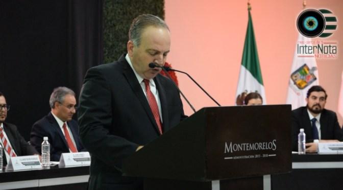 ALCALDE JAVIER TREVIÑO RINDE SU TERCER INFORME DE GOBIERNO EN MONTEMORELOS, N.L.