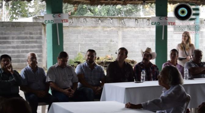 SE REÚNE ALCALDE ELECTO ERNESTO JOSÉ QUINTANILLA VILLAREAL CON EL COMITÉ MUNICIPAL DE CAMPESINOS.