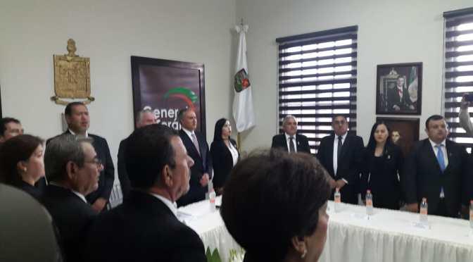 ALCALDE ELEUTERIO VILLAGOMEZ RINDE SU TERCER INFORME DE GOBIERNO EN GENERAL TERAN, N.L.