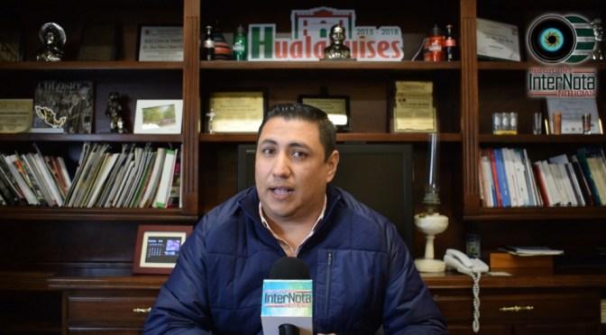 EL ALCALDE JESÚS AGUILAR MENCIONO QUE HABRÁ NUEVOS PROYECTOS PARA EL MUNICIPIO EN ESTA NUEVA ADMINISTRACIÓN 2018-2021 EN HUALAHUISES NUEVO LEÓN.
