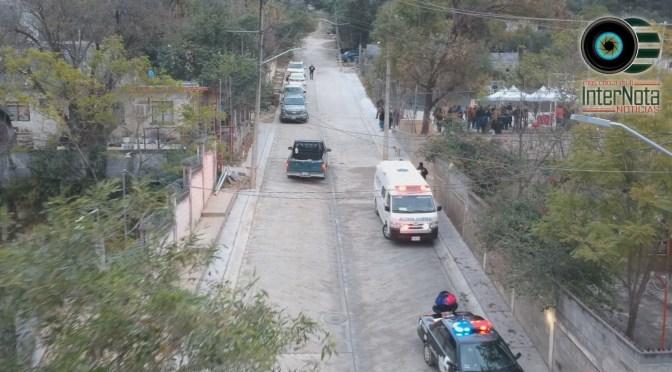 INAUGURAN SEGUNDA ETAPA DE PAVIMENTACIÓN EN LA CALLE RIO LA CHUECA DE LA COMUNIDAD LOS RODRÍGUEZ, SANTIAGO N.L.
