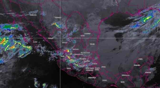 PREVÉN LLUVIAS EN NORTE Y NORESTE DE MÉXICO