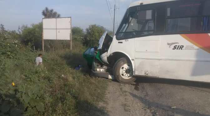 FUERTE ACCIDENTE DEJA SIN VIDA A 2 PERSONAS Y OTRAS 3 MAS LESIONADAS.