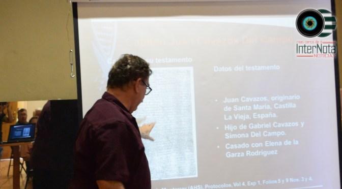 """HABLAN DEL ORIGEN DEL APELLIDO """"CAVAZOS"""" EN REUNIÓN MENSUAL DE LA CORRESPONSALÍA EN ALLENDE, N.L."""