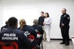 POLICÍAS DE GUADALUPE ACTUALIZAN PROTOCOLOS EN EL USO DE LA FUERZA Y REGISTRO DE DETENIDOS