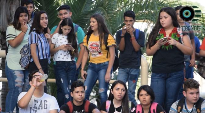 LLEVAN A CABO CONFERENCIA A LOS ALUMNOS INGRESADOS DEL PLANTEL CECYTE , EN EL MUNICIPIO DE ALLENDE N.L.