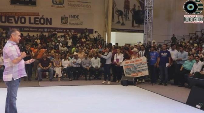 FERIA FOMERREY CONTIGO BENEFICIAN A MILES DE FAMILIAS DE TODO EL ESTADO DE NUEVO LEÓN.