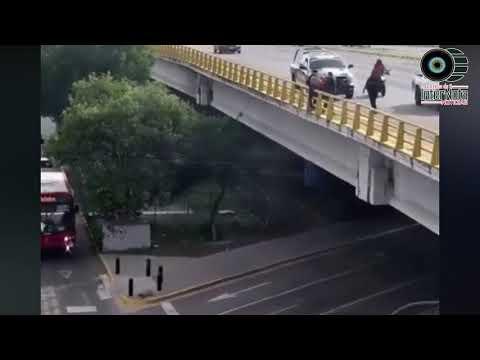 ¡HEROÍNA! MUJER EVITA QUE UN HOMBRE SE SUICIDE EN ZAPOPAN