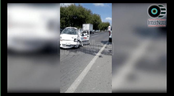 #ACCIDENTE SE REGISTRA FUERTE VOLCADURA.