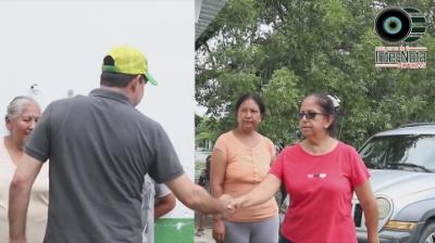 SUPERVISAN DE DAÑOS POR TORMENTA TROPICAL «FERNAND» EN ÁREA RURAL, EN EL MUNICIPIO DE CADEREYTA N.L.