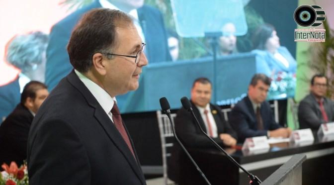 RINDE LUIS FERNANDO GARZA GUERRERO ALCALDE DE MONTEMORELOS SU PRIMER INFORME DE GOBIERNO.