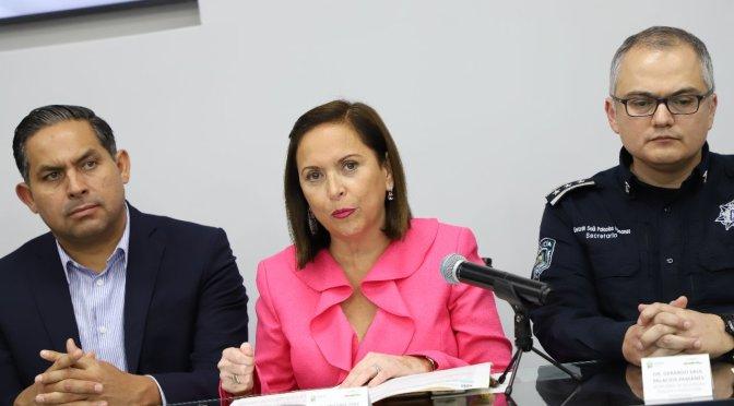PRESENTA GUADALUPE REGISTRO BIOMÉTRICO DE DETENIDOS