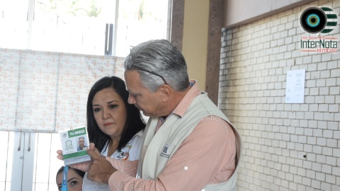 FIRMAN CONVENIO INEGI CON EL GOBIERNO DEL MUNICIPIO DE GRAL. TERÁN PARA REALIZAR EL CENSO.
