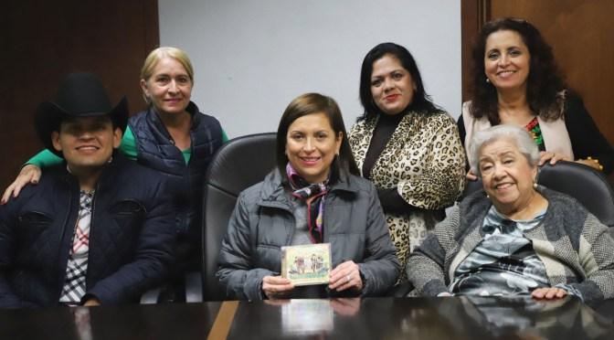 ALCALDESA CRISTINA DÍAZ RECONOCERÁ A IRMA SILVA HERRERA NOMINADA AL LATIN GRAMMY