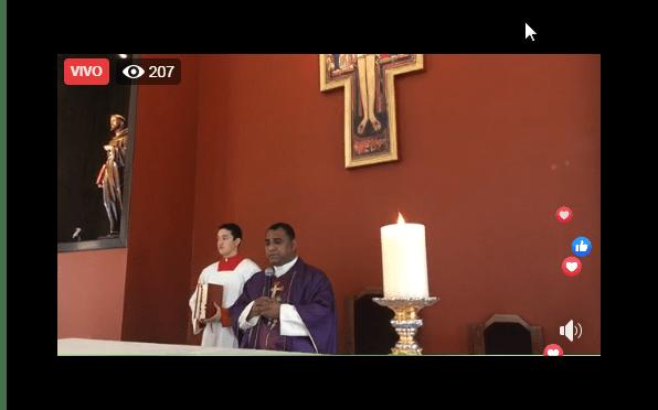 MISA DOMINICAL EN LA PARROQUIA SAN FRANCISCO DE ASÍS EN ALLENDE NUEVO LEÓN
