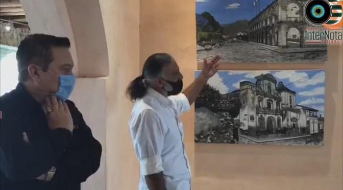 REALIZAN INAUGURACIÓN Y EXPOSICIÓN VIRTUAL DE LA EXPOSICIÓN DE ARTE DE NOMBRE SUEÑOS Y DESTINOS, DEL ARTISTA PLÁSTICO URUGUAYO GABRIEL CAMARGO, EN EL CENTRO CULTURAL LAS LOMAS DE GARCÍA NUEVO LEÓN.