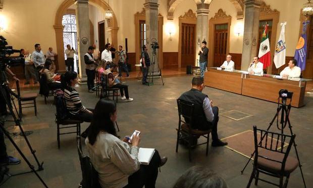 SURGE BROTE DE COVID-19 ENTRE REPORTEROS QUE CUBREN CONFERENCIA DE PRENSA DEL DR. MANUEL DE LA O, NUEVO LEÓN.