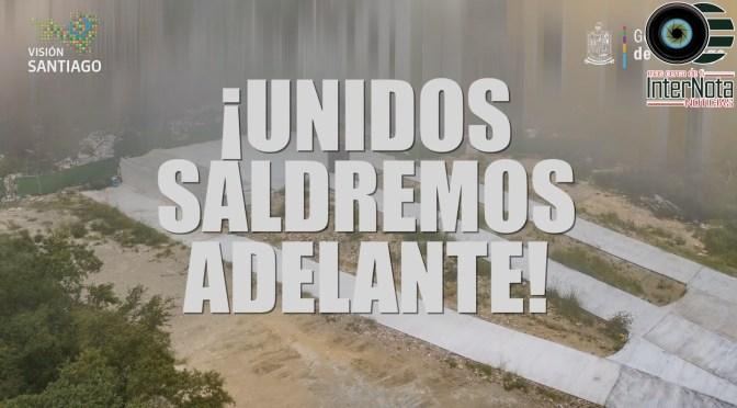 DAN ARRANQUE CON 50 OBRAS MÁS EN EL MUNICIPIO DE SANTIAGO, N.L.