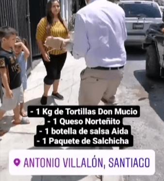 SIGUE MARCO FESTEJANDO A LOS PAPÁS DE SANTIAGO