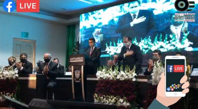 REALIZA ALCALDE DE MONTEMORELOS, LUIS FERNANDO GARZA GUERRERO ENTREGA POR ESCRITO DE SU SEGUNDO INFORME DE GOBIERNO