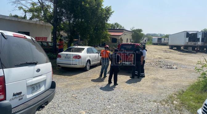 ACCIDENTE VIAL A LA ALTURA DE LOS SABINOS EN ALLENDE N.L.