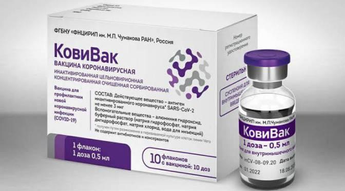 Rusia registró su tercera vacuna contra el coronavirus, la CoviVac