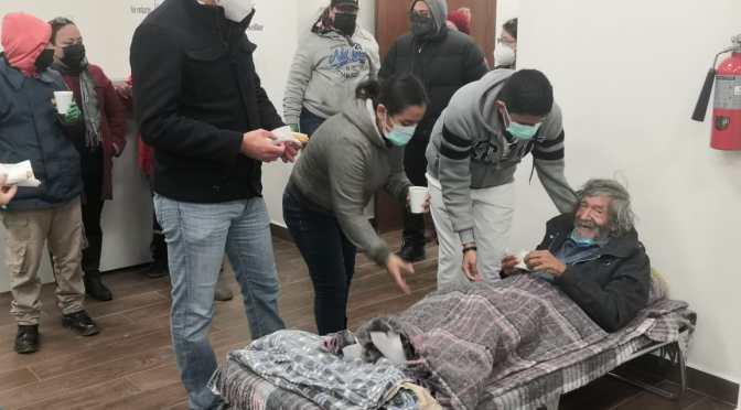 REALIZAN OPERATIVO PARA SALVAGUARDAR FAMILIAS VULNERABLES ANTE LAS BAJAS TEMPERATURAS