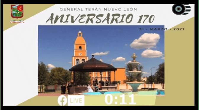 170 ANIVERSARIO DE GENERAL TERÁN, N.L.