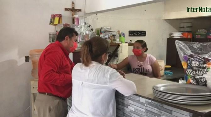 CANDIDATO A LA ALCALDÍA DE GRAL. TERÁN, N.L. POR EL PRI, CALLETANO SILVA CANTÚ PROPONE REHABILITAR PARTE DEL RIO