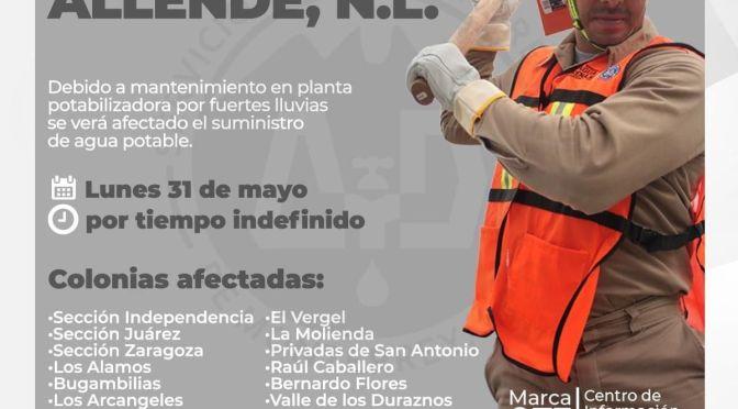 #COMUNICADO #ALLENDE