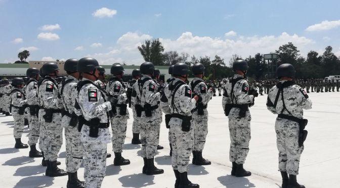 GUARDIA NACIONAL SE ESTRENARÁ COMO VIGILANTE DE LAS CASILLAS EN LAS ELECCIONES 2021